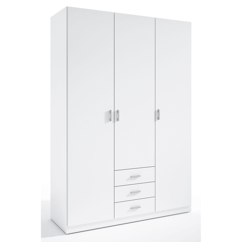 Armario 3 puertas Abenuj blanco