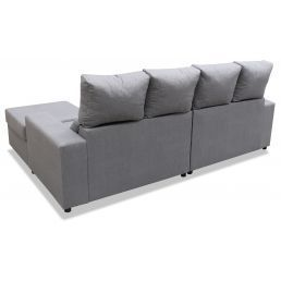 Sofá chaise longue Sara 244 cm.