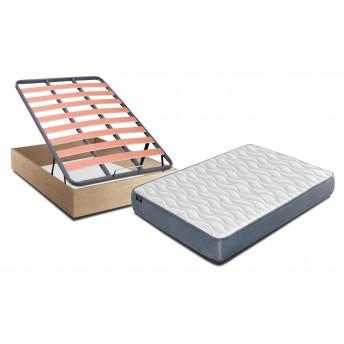 Conjunto canapé y colchón 135x190 Cambrian Prime