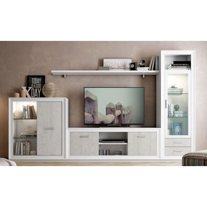 Mueble de salón 682 - 295 cm.