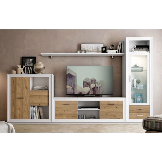 Mueble de salón 699 - 295 cm.