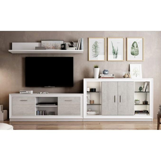 Mueble de salón 696 - 290 cm.