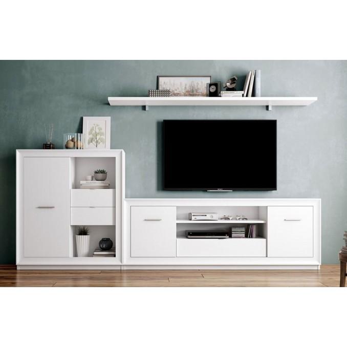 Mueble de salón 702 - 255 cm.