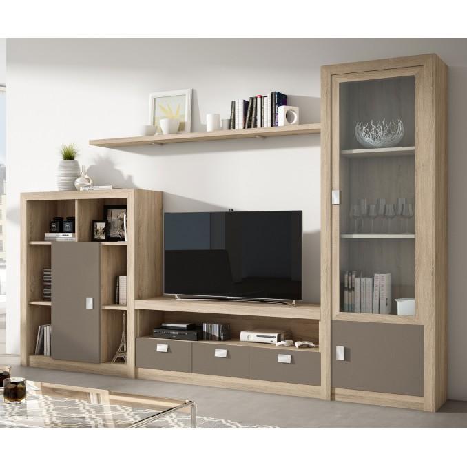 Mueble de salón 645B - 280 cm.