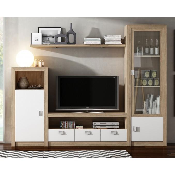 Mueble de salón 647 - 240 cm.