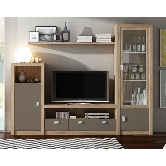 Mueble de salón 647B - 240 cm.