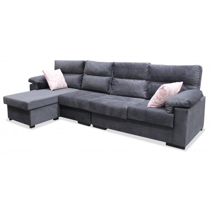 Sofá chaise longue Esperanza 275 cm.