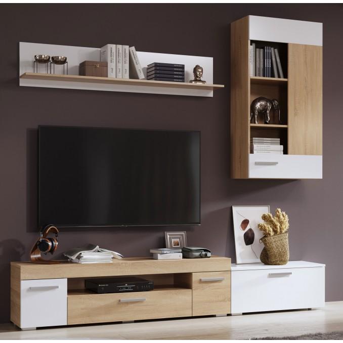 Mueble de salón Carolina 230 cm.