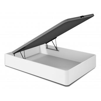 Canapé abatible 22mm.tapa tapizada  90x190 Montoro blanco